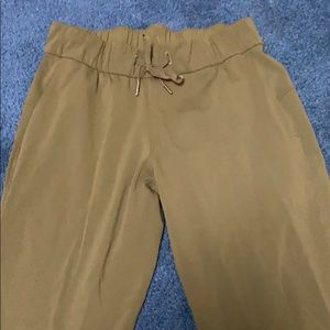 lululemon athletica Pants - Army green lululemon joggers